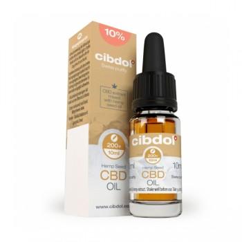 Масло от коноп CIBDOL - 10%