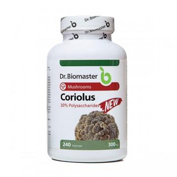 CORIOLUS EXTRACT 30% POLYSACCHARIDES - 240 caps.