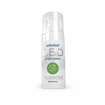 Акзедол - крем при акне със CBD (канабидиол)