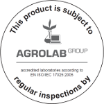 Certificate by Agrolab
